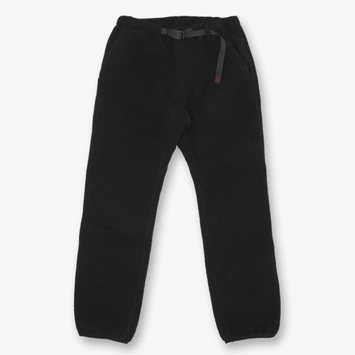 [GRAMICCI] BOA FLEECE PANTS BLACK