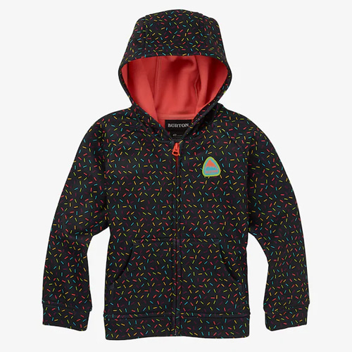 [BURTON] Toddler Burton Crown Bonded Full-Zip Hoodie