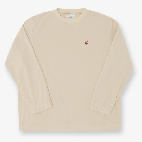 [GRAMICCI] FLEECE CREW NECK IVORY