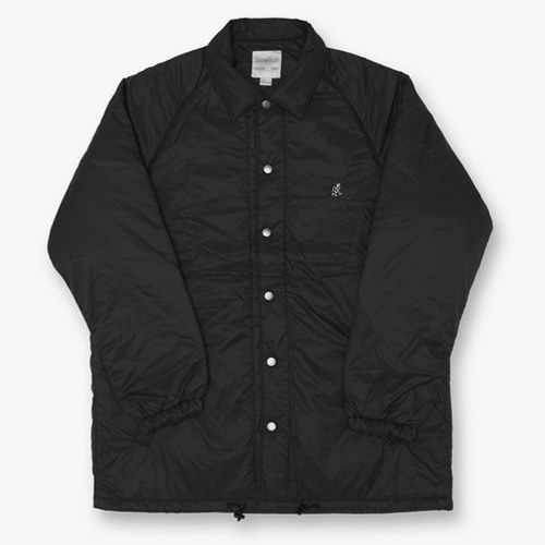 [GRAMICCI] PADDING COACHES JACKET BLACK