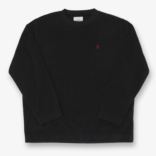 [GRAMICCI] FLEECE CREW NECK BLACK